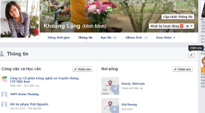 facebook - tùy chỉnh timeline